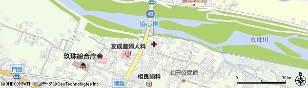 大分県玖珠郡玖珠町塚脇335周辺の地図