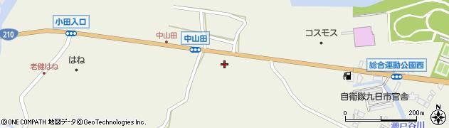 大分県玖珠郡玖珠町山田2488周辺の地図