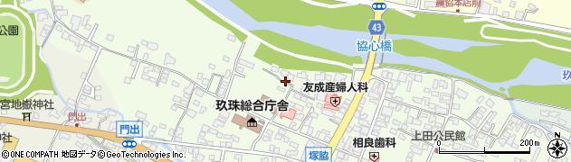 大分県玖珠郡玖珠町塚脇118周辺の地図