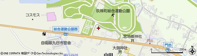 大分県玖珠郡玖珠町山田83周辺の地図