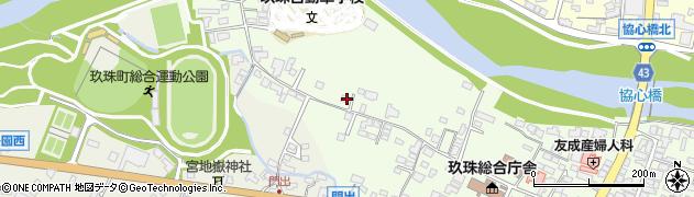 大分県玖珠郡玖珠町塚脇89周辺の地図