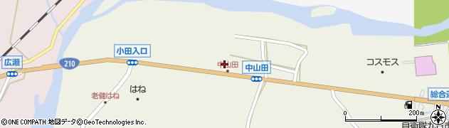 大分県玖珠郡玖珠町山田2672周辺の地図
