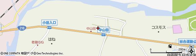 大分県玖珠郡玖珠町山田2533周辺の地図