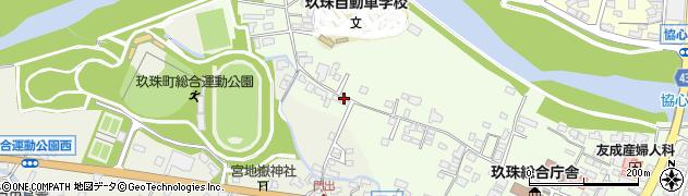 大分県玖珠郡玖珠町塚脇78周辺の地図