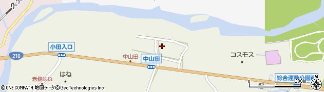 大分県玖珠郡玖珠町山田2562周辺の地図