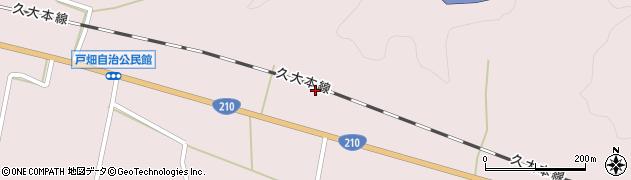 大分県玖珠郡玖珠町戸畑926-1周辺の地図