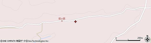 大分県玖珠郡玖珠町戸畑9290周辺の地図