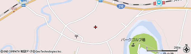 大分県玖珠郡玖珠町戸畑6498周辺の地図