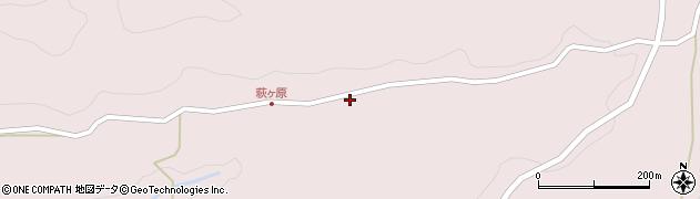 大分県玖珠郡玖珠町戸畑9289周辺の地図