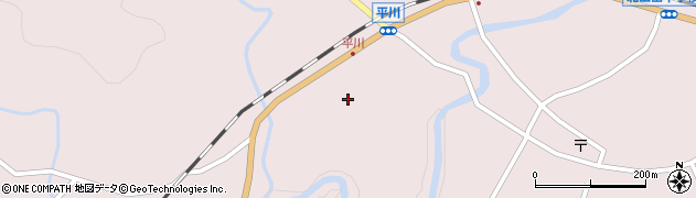 大分県玖珠郡玖珠町戸畑6290周辺の地図