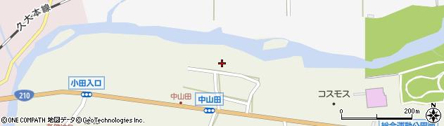 大分県玖珠郡玖珠町山田2593周辺の地図