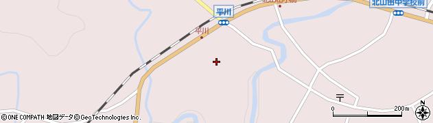 大分県玖珠郡玖珠町戸畑6266周辺の地図