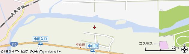 大分県玖珠郡玖珠町山田2538周辺の地図