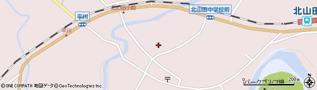 大分県玖珠郡玖珠町戸畑6385周辺の地図