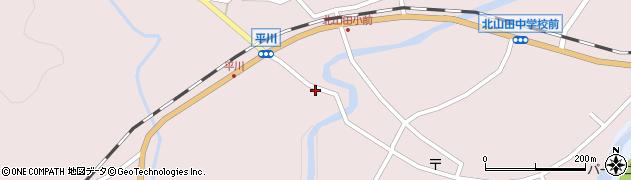 大分県玖珠郡玖珠町戸畑6349周辺の地図
