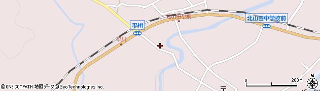 大分県玖珠郡玖珠町戸畑6505周辺の地図
