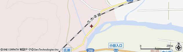 大分県玖珠郡玖珠町戸畑8周辺の地図