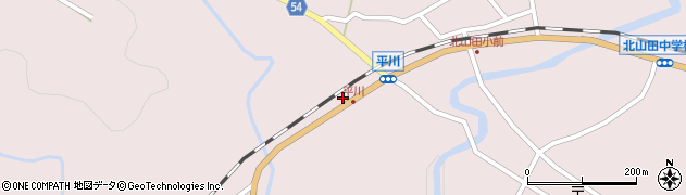 大分県玖珠郡玖珠町戸畑6248周辺の地図