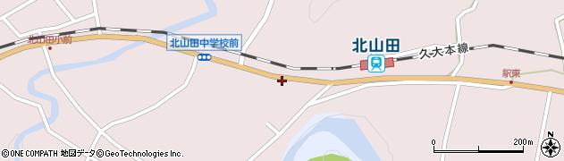 大分県玖珠郡玖珠町戸畑1745周辺の地図