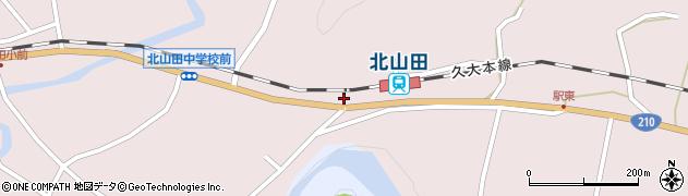 大分県玖珠郡玖珠町戸畑1660周辺の地図