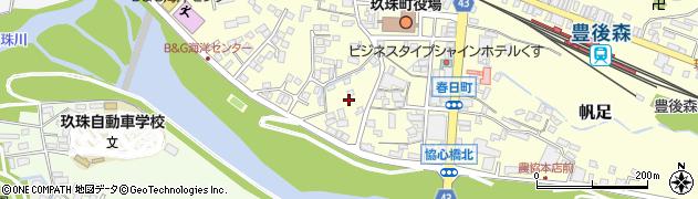 大分県玖珠郡玖珠町帆足327周辺の地図