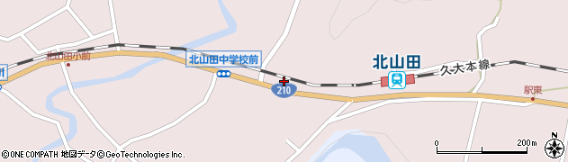 大分県玖珠郡玖珠町戸畑1746周辺の地図