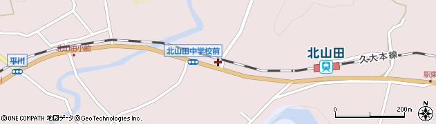 大分県玖珠郡玖珠町戸畑6515周辺の地図