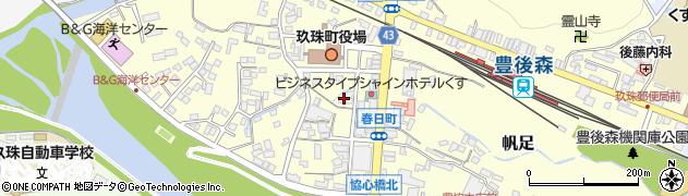 大分県玖珠郡玖珠町帆足261周辺の地図