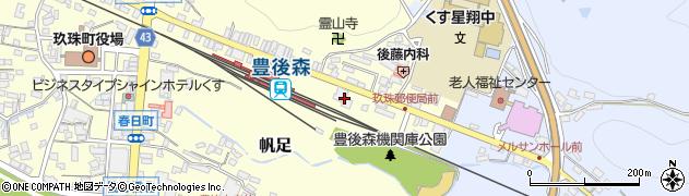 大分県玖珠郡玖珠町帆足412周辺の地図