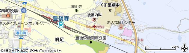大分県玖珠郡玖珠町帆足454周辺の地図