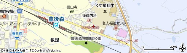 大分県玖珠郡玖珠町帆足453-4周辺の地図