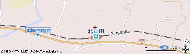 大分県玖珠郡玖珠町戸畑1693周辺の地図