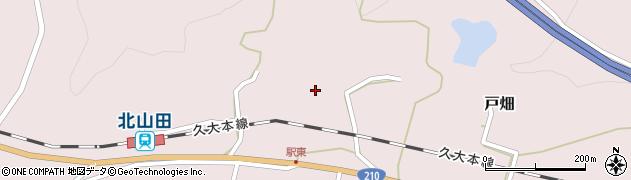 大分県玖珠郡玖珠町戸畑1529周辺の地図
