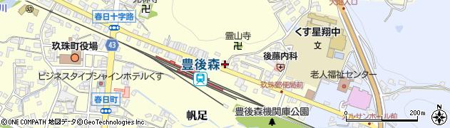 大分県玖珠郡玖珠町帆足410周辺の地図