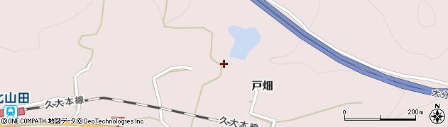 大分県玖珠郡玖珠町戸畑1335周辺の地図