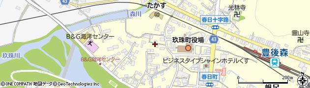 大分県玖珠郡玖珠町帆足275周辺の地図