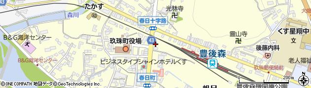 大分県玖珠郡玖珠町帆足234周辺の地図
