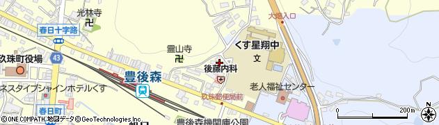 大分県玖珠郡玖珠町帆足479周辺の地図