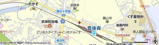 大分県玖珠郡玖珠町帆足239周辺の地図