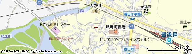 大分県玖珠郡玖珠町帆足271周辺の地図