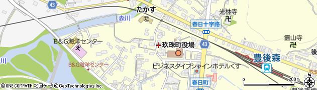 大分県玖珠郡玖珠町帆足269周辺の地図