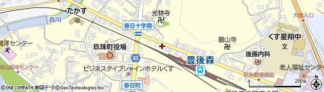 大分県玖珠郡玖珠町帆足233-30周辺の地図