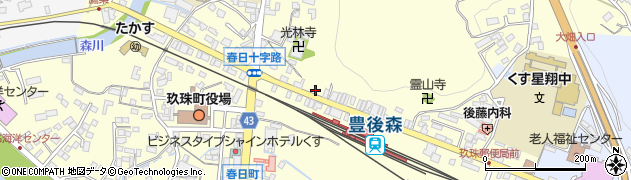 大分県玖珠郡玖珠町帆足239-31周辺の地図