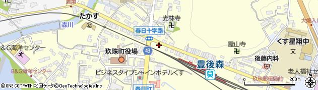 大分県玖珠郡玖珠町帆足233-18周辺の地図