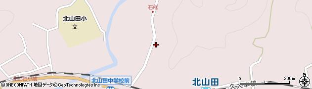 大分県玖珠郡玖珠町戸畑1797周辺の地図