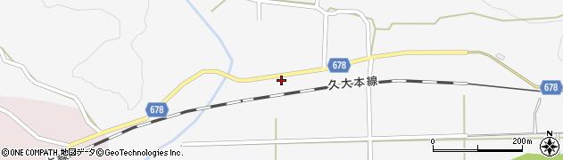 大分県玖珠郡玖珠町四日市665周辺の地図