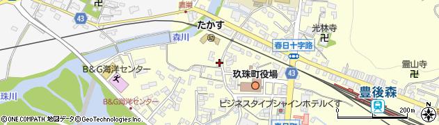 大分県玖珠郡玖珠町帆足222周辺の地図