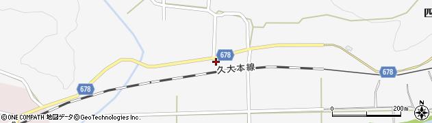 大分県玖珠郡玖珠町四日市781周辺の地図