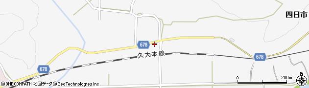 大分県玖珠郡玖珠町四日市801周辺の地図