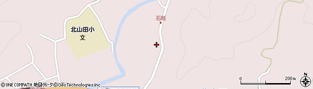 大分県玖珠郡玖珠町戸畑1792周辺の地図